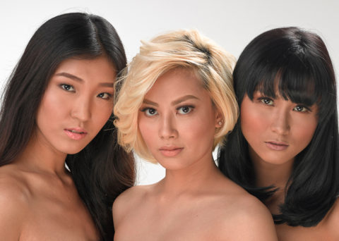 Models for BYS Cosmetics