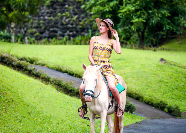 Horse back riding at Caliraya, Philippines
