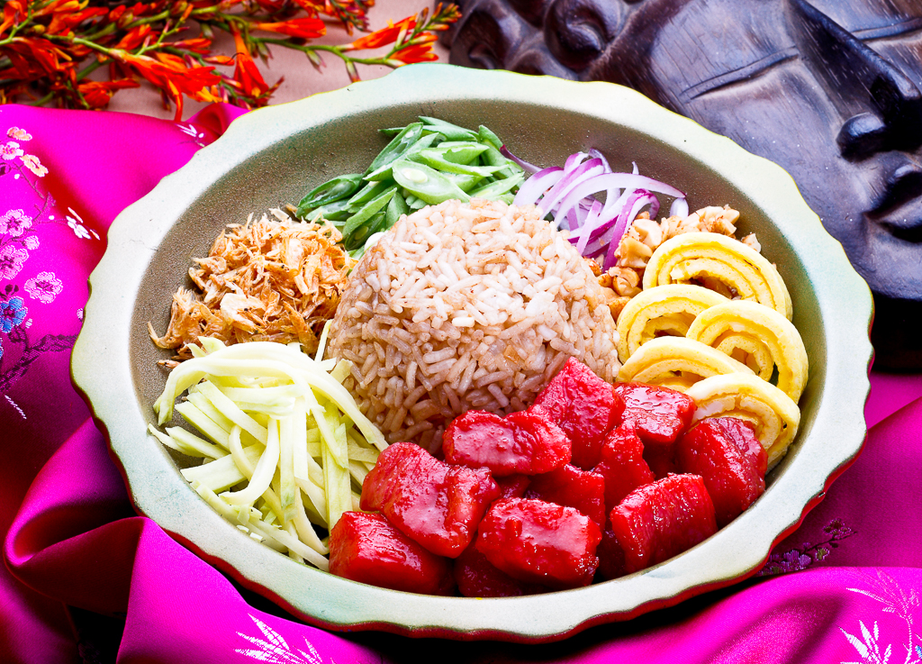 tocino rice bowl