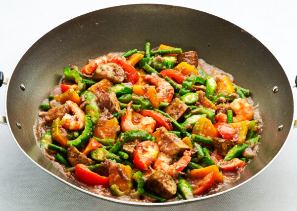 Shrimp Pinakbet Vegetable Dish