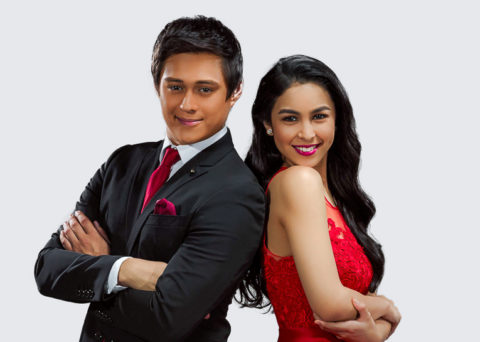Enrique Gil with Julia Baretto