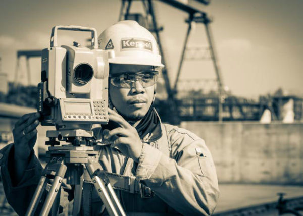 portrait of a surveyor