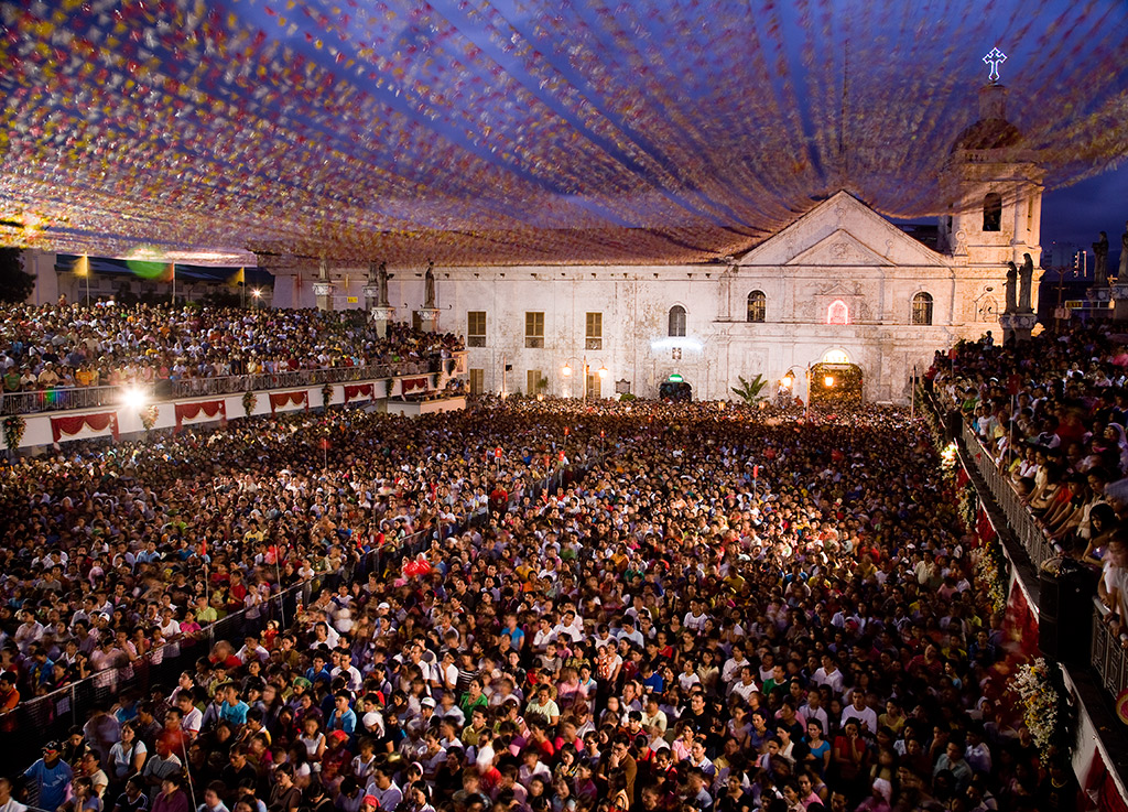 Outdoor Mass at Sinulog Festival