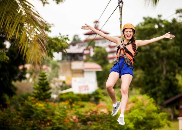 zipline at caliraya